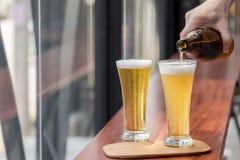 杯啤酒 免版税图库摄影