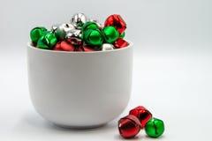 杯圣诞装饰 库存照片