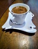 杯塞尔维亚咖啡 免版税库存照片