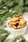 杯姜饼干 圣诞节我的投资组合结构树向量版本 Newyear 库存图片