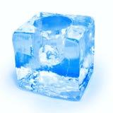 杯子冰 库存照片