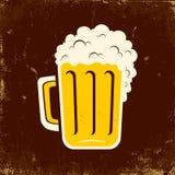 杯子啤酒 免版税库存图片