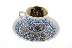 杯子土耳其咖啡 库存照片