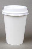 杯子塑料 免版税库存照片