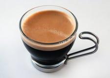 杯子小咖啡杯浓咖啡 库存照片
