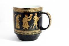 杯子希腊 库存照片