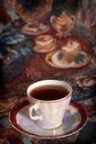 杯子日本服务茶 免版税图库摄影