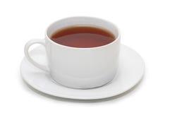 杯子查出的茶 免版税图库摄影