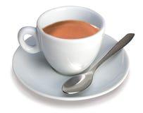 杯子浓咖啡意大利语 免版税库存照片
