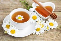 杯子清凉茶 库存图片