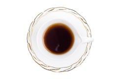 杯子热茶白色 免版税库存图片