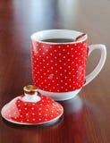 杯子热茶 库存图片
