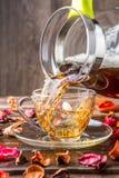 杯子照片用茶 图库摄影