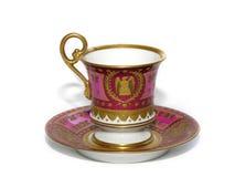 杯子瓷茶 库存图片