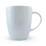 杯子白色 免版税图库摄影