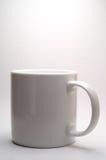 杯子白色 免版税库存图片