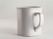 杯子白色 库存照片