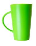 杯子空的绿色 库存图片