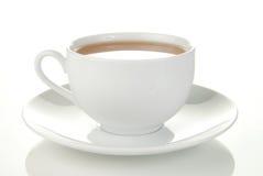 杯子简单的茶 库存照片