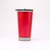 杯子红色上升暖流 库存照片