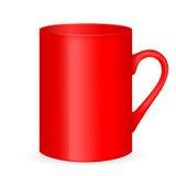 杯子红色茶 库存图片