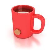 杯子红色 库存图片