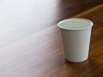 杯子纸水 库存照片
