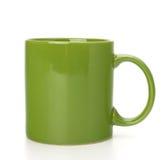 杯子绿色杯子茶 免版税库存照片