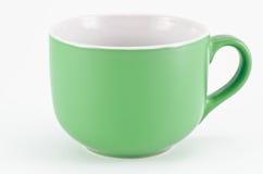 杯子绿色 免版税库存照片