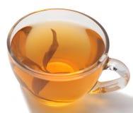 杯子绿茶 免版税库存照片