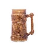 杯子老啤酒 免版税库存图片
