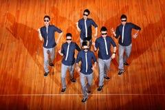 杯子舞蹈Hip Hop国际poreotix 免版税图库摄影