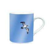 杯子茶或咖啡与照片屏幕 库存照片