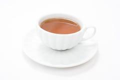 杯子茶白色 库存图片