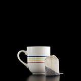 杯子茶袋 免版税库存照片