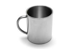 杯子金属 免版税库存照片