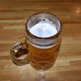 杯子麦子啤酒 库存照片