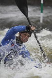 杯子primdis种族障碍滑雪vit水世界 图库摄影