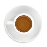 杯希腊语-土耳其咖啡 图库摄影