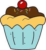 杯形蛋糕动画片 库存照片