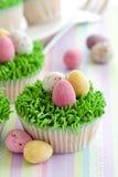 杯形蛋糕复活节 库存照片