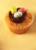 杯形蛋糕复活节 免版税库存照片