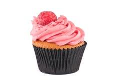杯形蛋糕查出的白色 免版税库存照片
