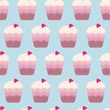 杯形蛋糕样式 免版税库存图片