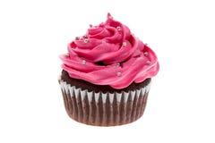 杯形蛋糕桃红色 库存图片