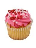 杯形蛋糕粉红色 库存图片
