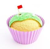 杯形蛋糕高尔夫球 免版税图库摄影