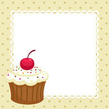 杯形蛋糕 库存图片
