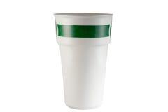杯有白色背景 免版税库存图片