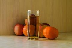 杯汁液fnd果子 免版税库存照片
